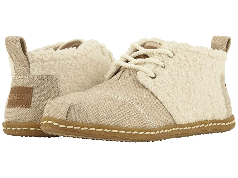 TOMS Bota (Natural Canvas/Faux Shearling) Women