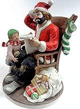 Emmett Kelly, Jr. Spirit of Christmas VII, Porcelain Hobo Clown Figurine 10