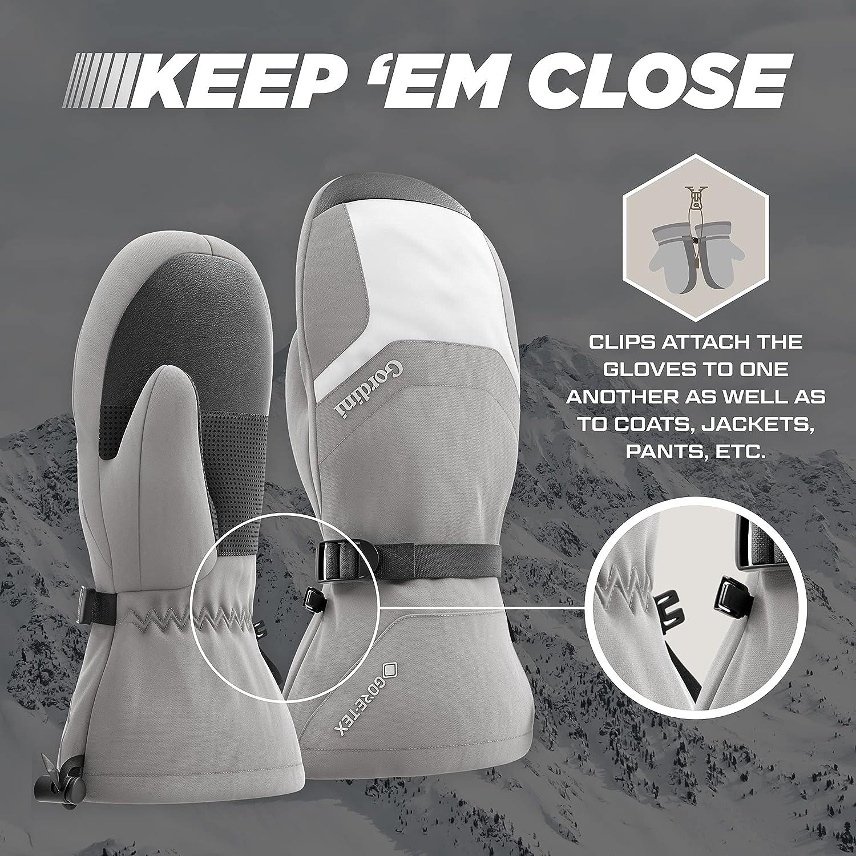 Gordini Women's Gore-Tex Gauntlet Mitten Snow Ski Waterproof Cold Insulated