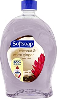 Softsoap Liquid Hand Soap Refill, Coconut and Warm Ginger - 56 fluid ounce