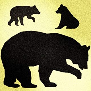 Best bear cub stencil Reviews