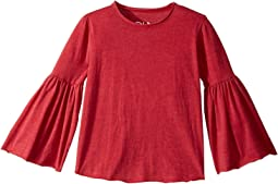 Chaser Kids - Super Soft Tee with Flared Sleeves (Little Kids/Big Kids)
