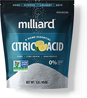 Best Milliard Citric Acid 1 Pound - 100% Pure Food Grade Non-GMO Project Verified (1 Pound) Review