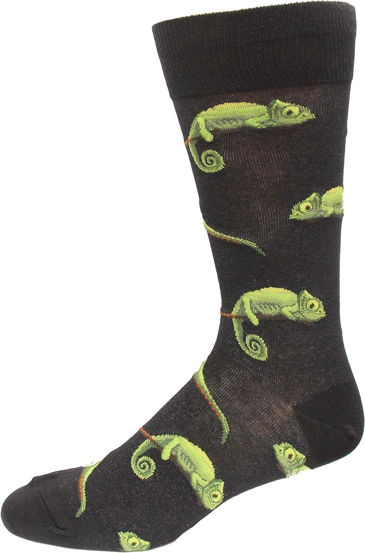 HOTSOX Womens Chameleons Socks 1 Pair, Black