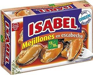 Isabel Mejillones De Las Rías Gallegas En Salsa Escabeche 13-18 ...