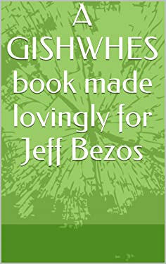 A GISHWHES book made lovingly for Jeff Bezos