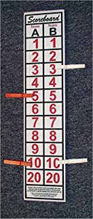 "SCOREBOARD, Washers, Cornhole, Horseshoes, Bocce Ball-18"" Tall, 4"" wide"
