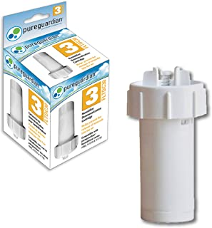 Pure Guardian FLTDC30 Humidifier Demineralization Filter, Cartridge #3, 500 Hrs. Run Time, Prevents Release of Minerals Into Air, Fights White Dust, Easy Application to PureGuardian Humidifier