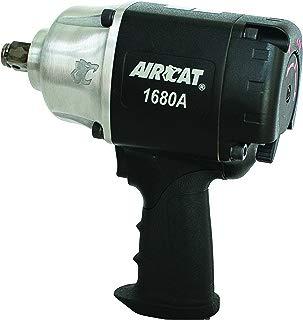 "AIRCAT 1680-A 3/4"" Drive Metal Impact Wrench, Black, Medium"