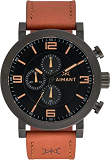 AIMANT Maui Cronograph Watches | 50 MM Men's Analog Watch | Leather