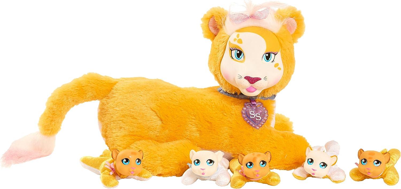 JP Puppy Surprise  Safari Leona Lion Wave 1  Plush Toy