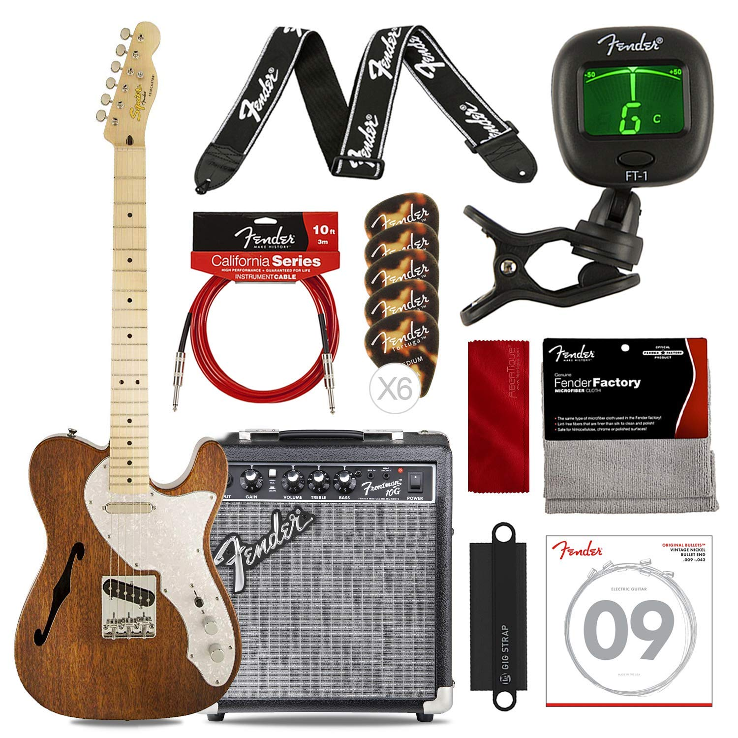 Squier by Fender Classic Vibe Telecaster Guitarra eléctrica ...