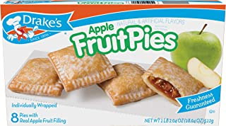 Drake's Apple Pies, 18.04 oz Family Pack, 8 Count