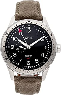 Big Crown Mechanical (Automatic) Black Dial Mens Watch 01 748 7756 4064-07 3 22 02LC (Certified Pre-Owned)