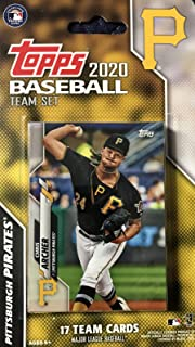 Pittsburgh Pirates 2020 Topps Factory Sealed Special Edition 17 Card Team Set with Starling Marte, Chris Archer and Josh Bell Plus