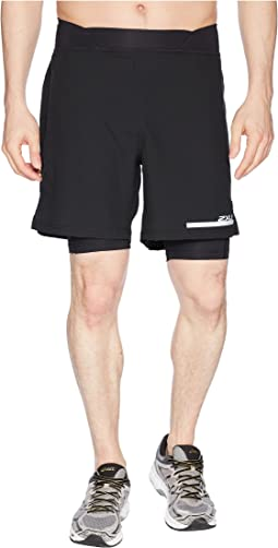 "Run 2-in-1 Compression 7"" Shorts"