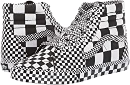 (All Over Checkerboard) Black/True White