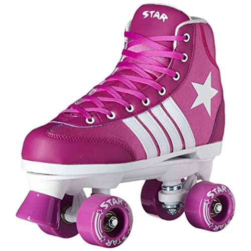2016 Epic Star Pegasus Indoor Outdoor Classic High-Top Quad Roller Skates w