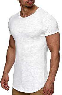 Indicode Herren Willbur Tee T-Shirt mit Rundhals-Ausschnitt aus 100% Baumwolle | Regular Fit Kurzarm Shirt einfarbig od. K...