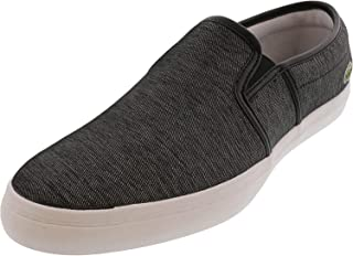 Lacoste Women's Tatalya Canvas Low Top Slip-On Shoes