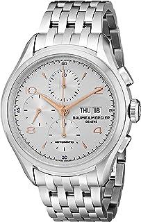 Baume & Mercier - Clifton Reloj de hombre automático 43mm correa de acero 10130
