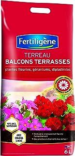 Fertiligène - Terreno, balcón, terrazas, Plantas Florales, 6 l
