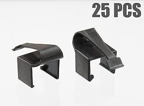 RJCLIP - Broken RJ45 Connector Solution (25 PCS) (Black)