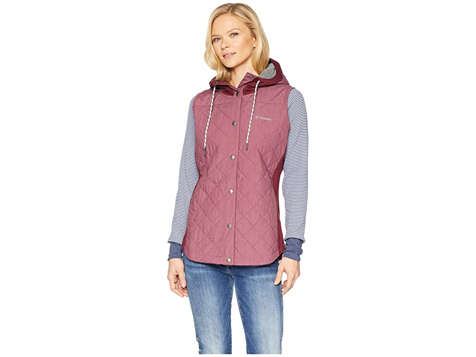 Columbia Pilsner Peaktm Vest (Rich Wine Heather) Women