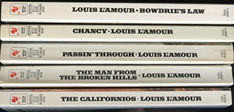 Louis L'Amour Collection: The Californios, The Man From The Broken Hills, Passin' Through, Clancy, Bowdrie's Law