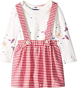 Joules Kids - Pinafore Skirt Set (Infant)