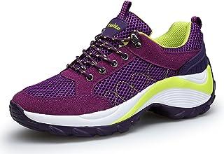 fb5abb0803 KOUDYEN Zapatillas Deportivas de Mujer Running Sneakers Respirable Zapatos
