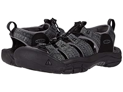 KEEN Newport H2 (Black/Steel Grey) Men