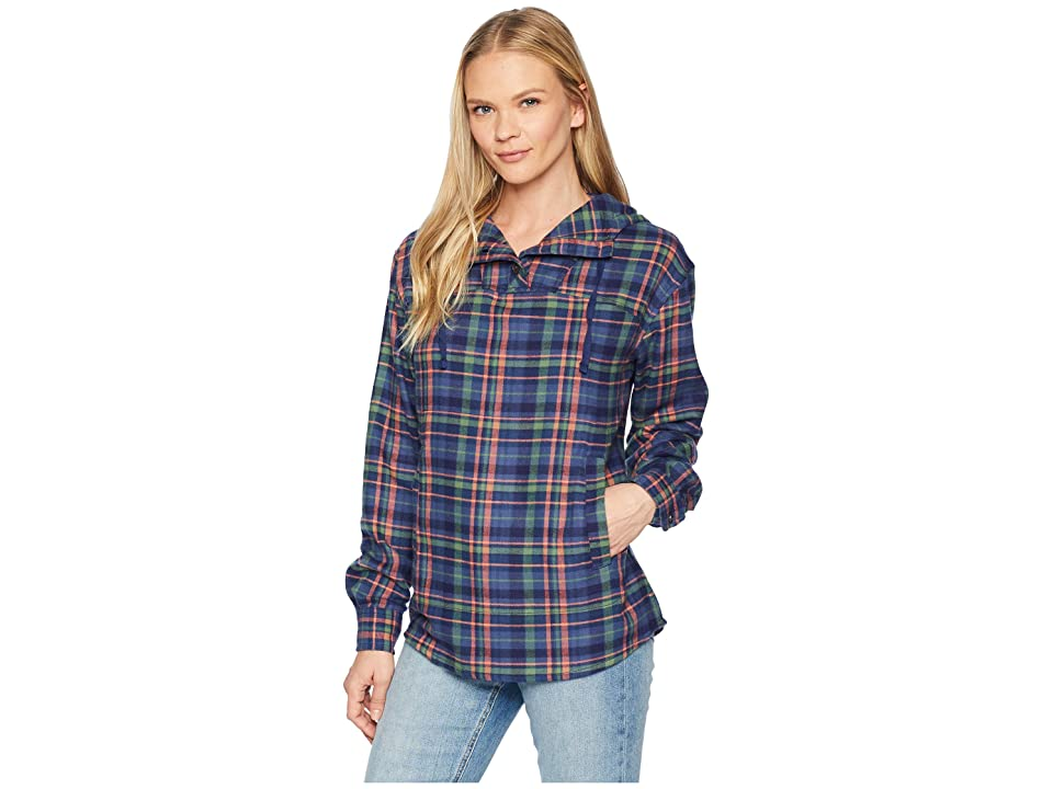 Marmot Shelley Midweight Flannel Long Sleeve (Arctic Navy) Women