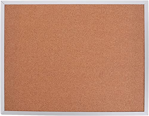 """2021 Cork Bulletin 2021 Board, Hanging Framed Corkboard 11 x 14"""" for Home, Classroom or lowest Office Use outlet sale"""