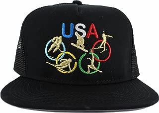 2018 Winter Olympics PyeongChang South Korea Gold Medalist USA Trucker Hat 2253