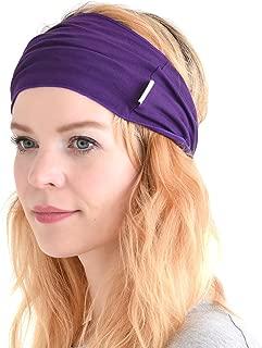 Mens Womens Elastic Bandana Headband Japanese Long Hair Dreads Head Wrap