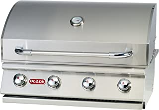 Bull Outdoor Products 26039 Natural Gas Outlaw Drop-In Grill Head