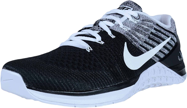Nike Metcon DSX Flyknit Black White 852930 011 Mens Cross Training