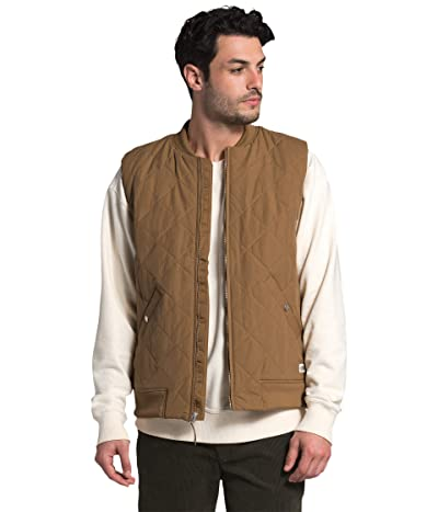 The North Face Cuchillo Insulated Vest (Utility Brown) Men
