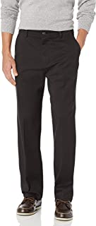 Men's Easy Khaki Stretch D3 Classic-Fit Flat-Front Pant