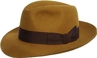 6df4a18b1836 Amazon.es: sombrero fedora - Amarillo