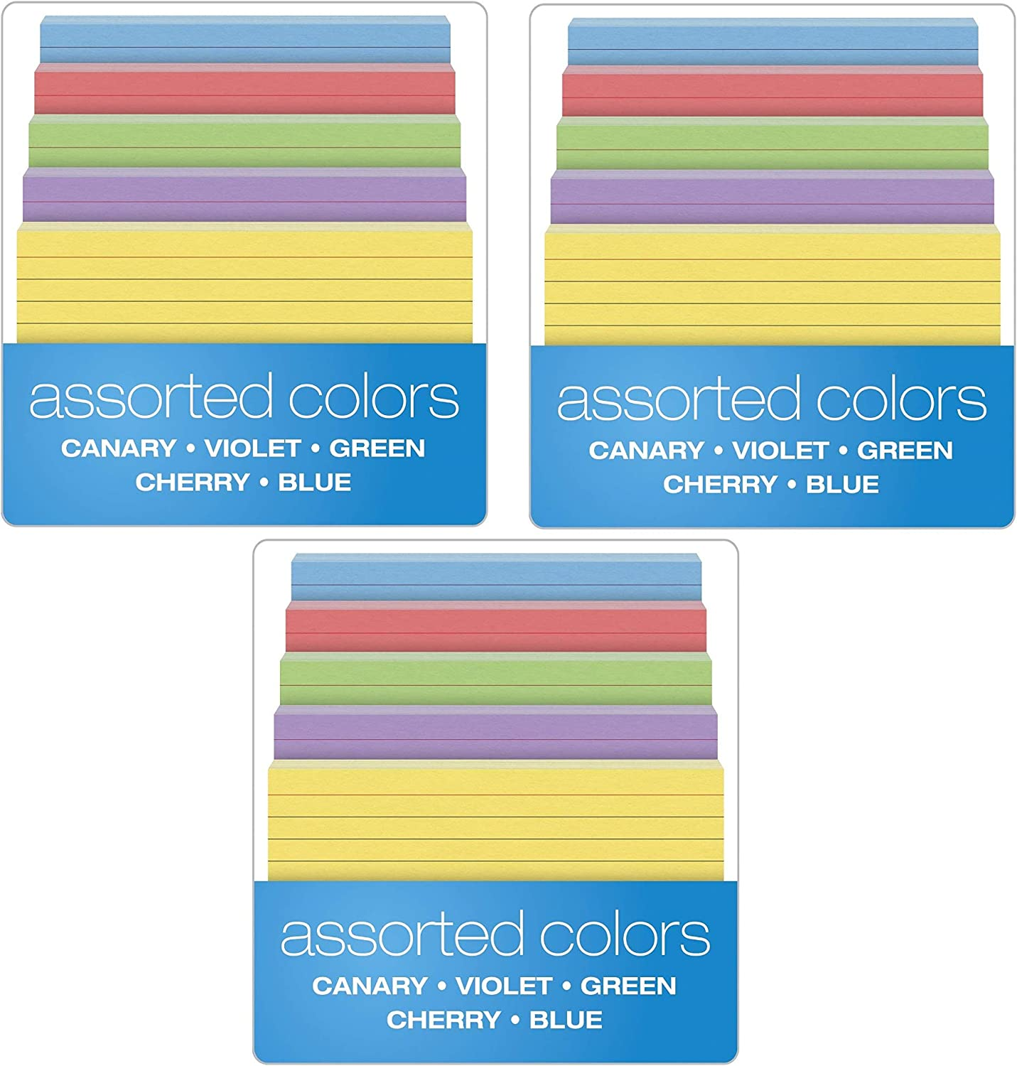 Oxford Ruled Color Jacksonville Mall Index Cards 4