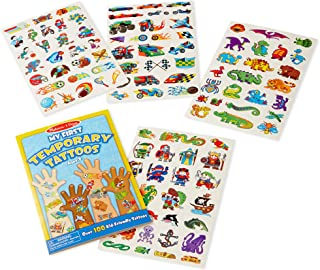 Melissa & Doug My First Temporary Tattoos: Adventure, Creatures, Sports, and More (100+ Kid-Friendly Tattoos, Great Gift for Girls and Boys - Best for 3, 4, 5, 6, and 7 Year Olds)