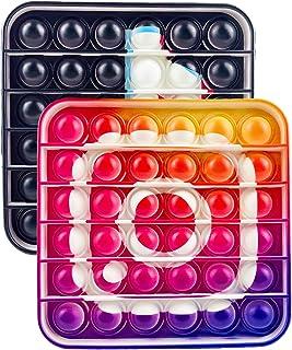 Push Pop Bubble Sensory Fidget Toy Agitation Jouet TIK Tok Dessin animéCaptain Bouclier Jeux Sensoriels Gadget Cadeau Stre...