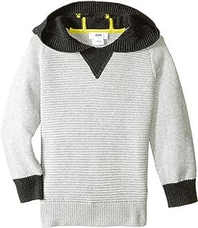 Hugo Boss Boys' Hooded Knitted Sweater