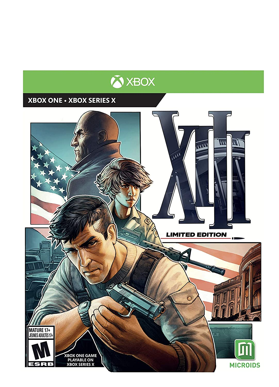 XIII: Department store Limited Edition Xb1 One - 2021 autumn and winter new Xbox