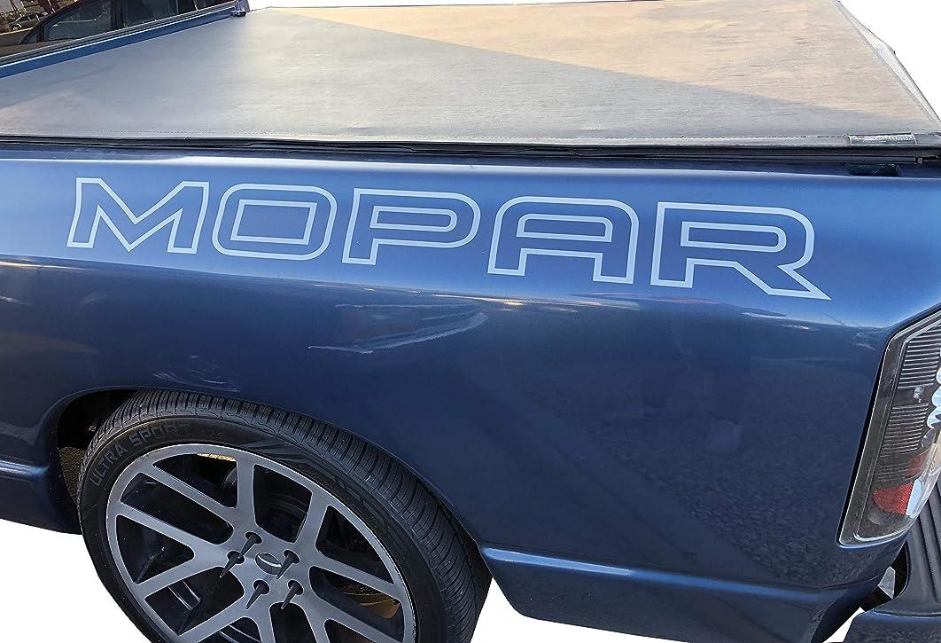 Mopar Window Decal Vinyl Sticker Dodge Vehicles Bed Vinyl Graphics