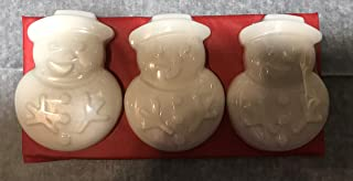 JOANNDLES Snowman 3 Soaps per Set 2 oz Each bar Holiday Christmas Soaps Frozen Pine Scented