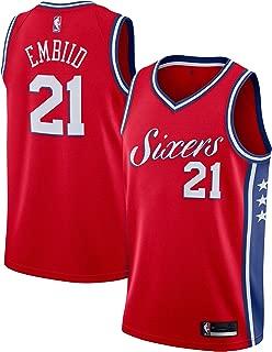 Outerstuff Joel Embiid Philadelphia 76ers Red Youth Alternate Statement Edition Swingman Jersey