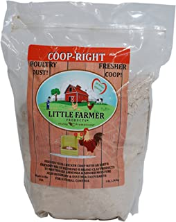 LITTLE FARMER PRODUCTS Coop-Right Chicken Coop Natural Poultry Dust Bath Nest Freshener Odor Eliminator | Redmond Clay, Di...